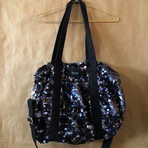 VS Pink   Sequin Duffle Bag Weekender Travel Bag